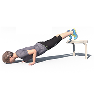 Push Up Decline Box