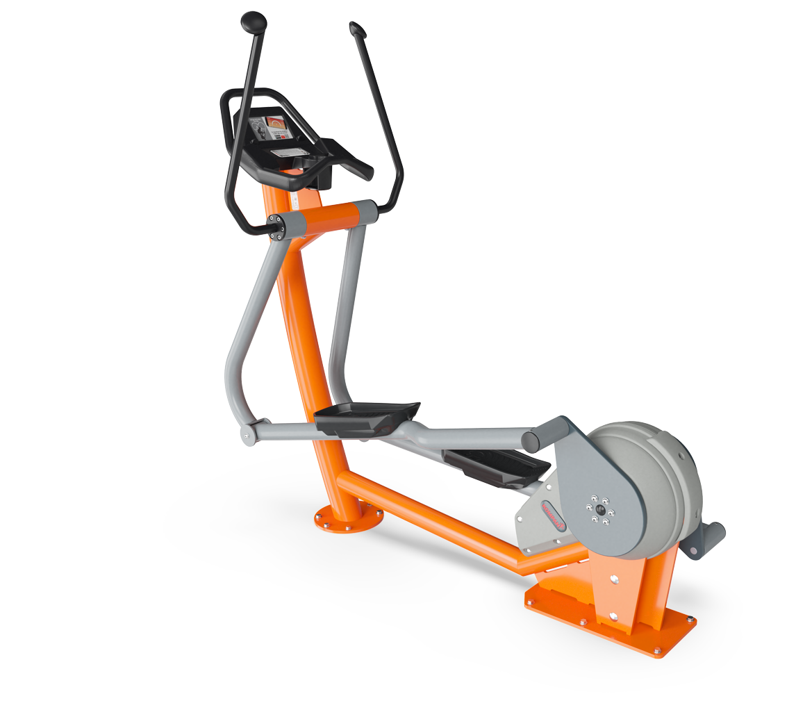 Cross Trainer with Touchscreen
