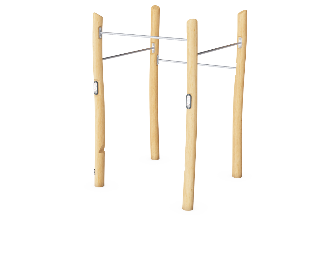Square Pull Up Station Robinia