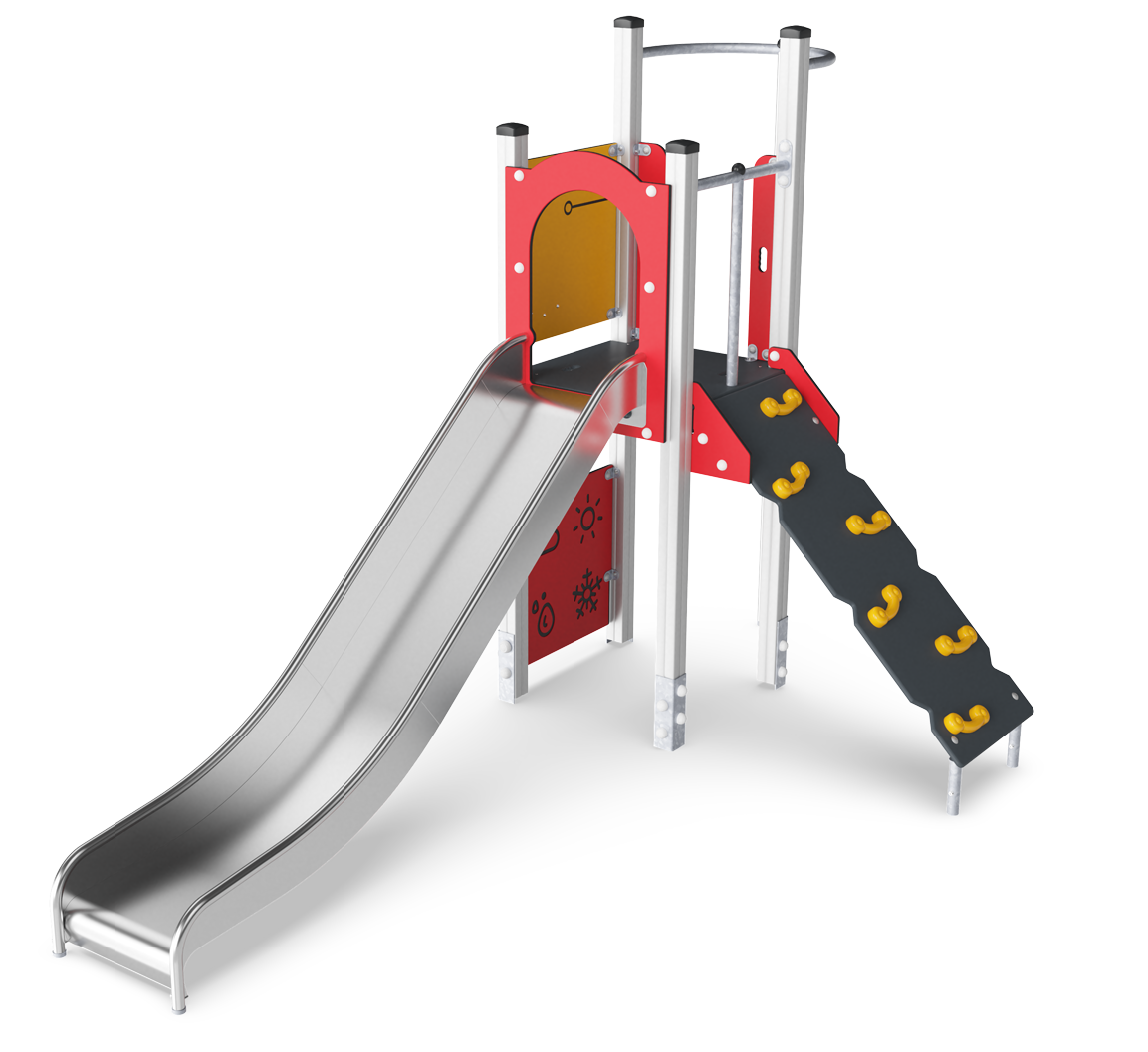 Play Tower with Fireman's Pole