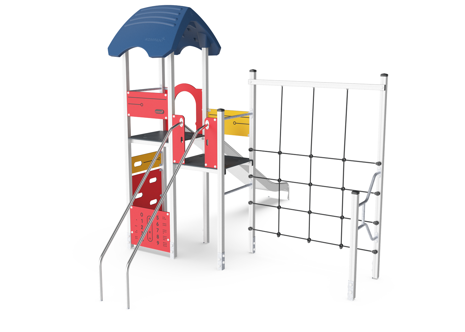 Play Tower with Banister Bars