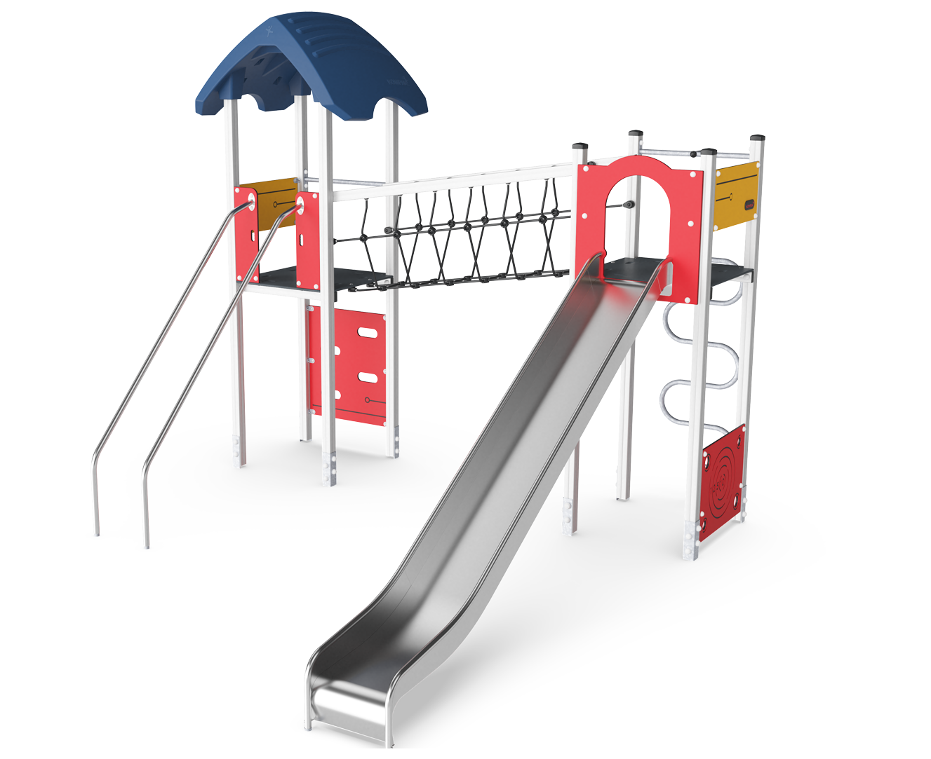 Double Tower with Banister Bars