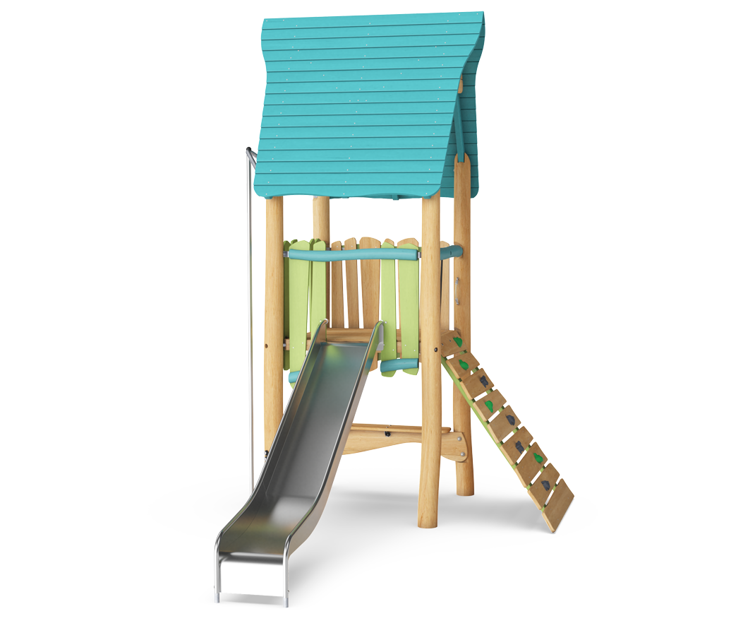 Village Tower with Slide