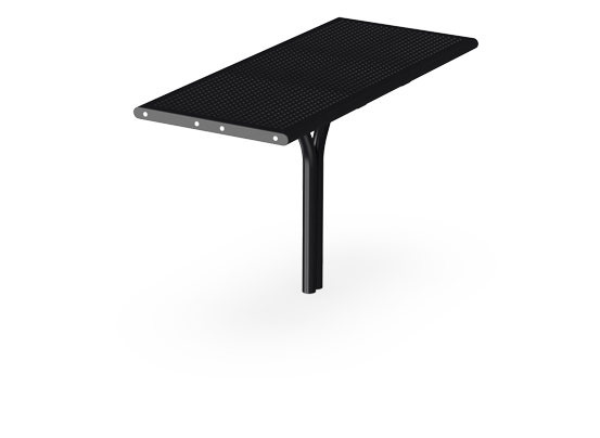 Agora Steel Table