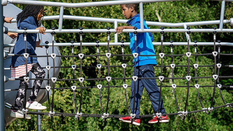 Playground safety – and why risk is essential to play