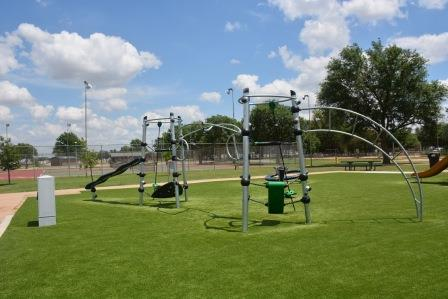 Electronic Playground designed to increase youth activity