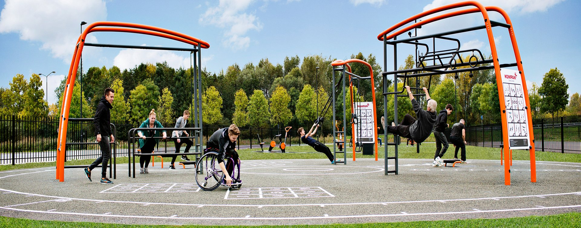 Outdoor fitness  Produkte