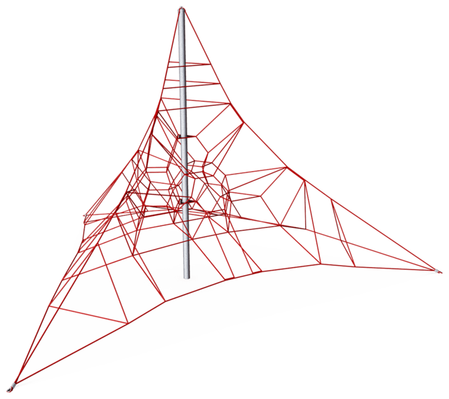 Triangular Spacenet