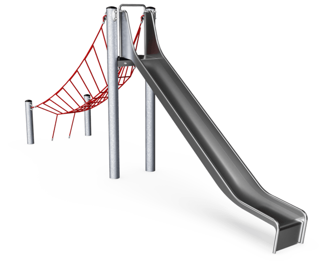 Freestanding slide, 2.0 m