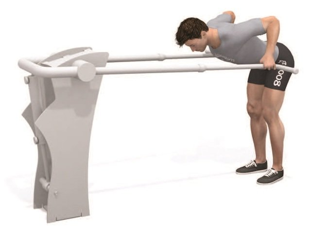 Bend Over Push Row