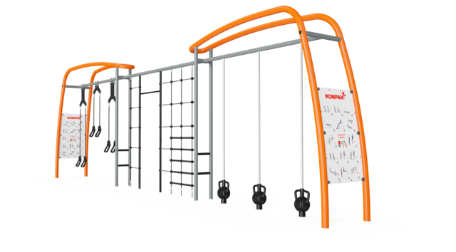 Magnetic Bells, Suspenion Trainer en Multi Net