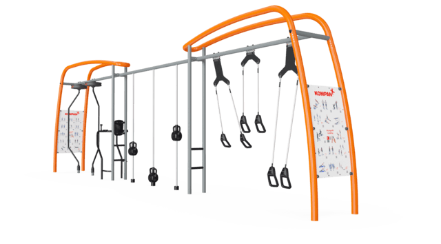 Suspension Trainer, Core Twist & Magnetic Bells Link