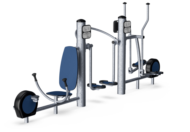 Free Runner, Cross Trainer, Power Bike