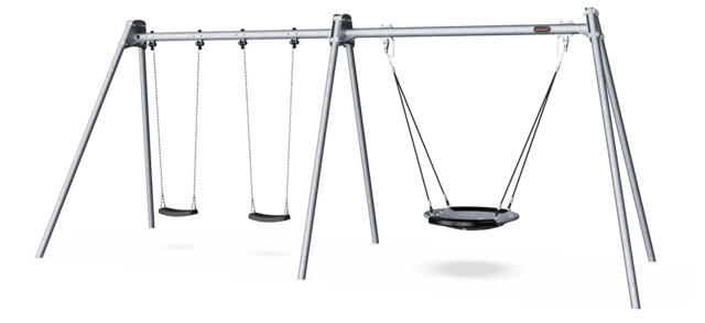 Two Bay Combi Swing H2.5m
