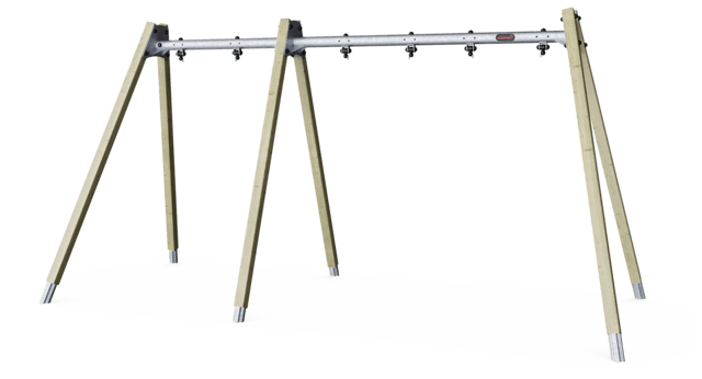 A-Frame swing - frame for 3 seat