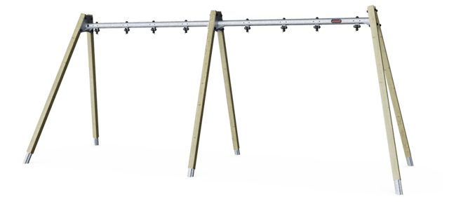 A-Frame swing - frame for 4 seat