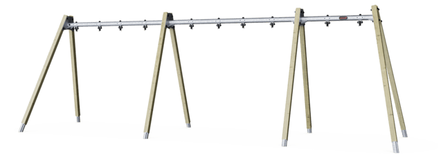 A-Frame swing - frame for 5 seat