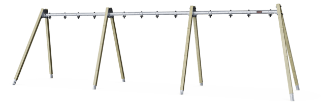 A-Frame swing - frame for 6 seat