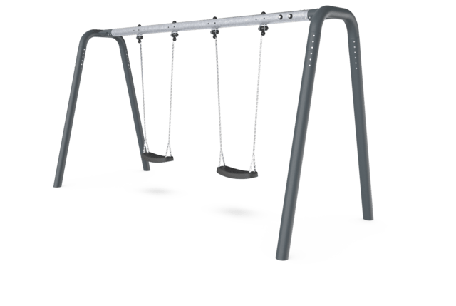 Portal Swing H=2 - Anthracite Legs