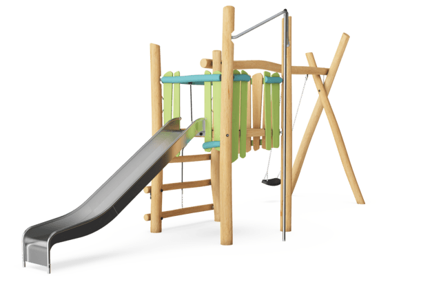 Slide & Swing Tower