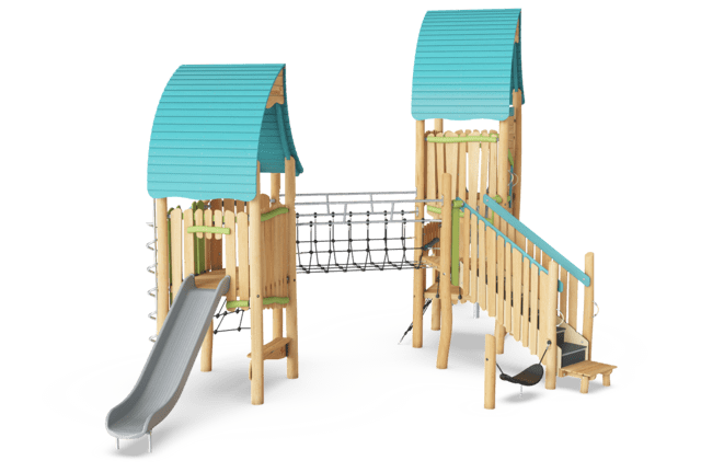 The Wizard's Double play tower ADA