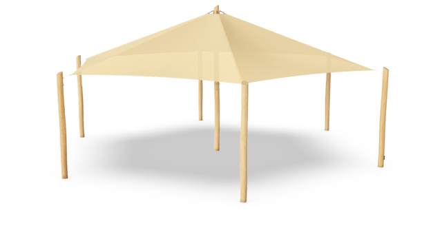 Grand Parasol Hexagonal