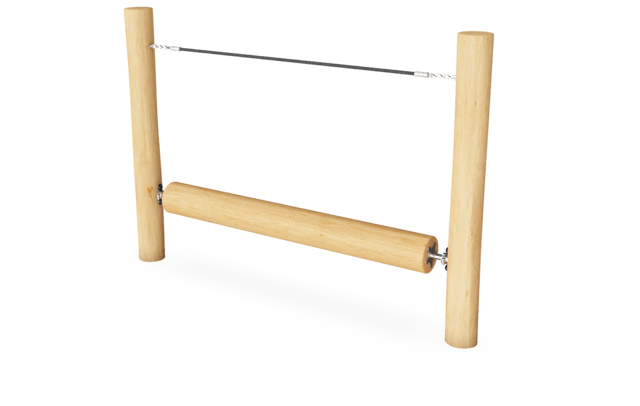 Robinia obstacle element - Draaibalk