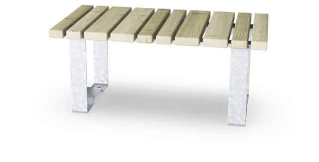 Rumba Bench Straight L=100cm