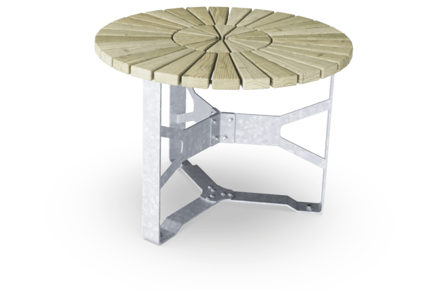 Rumba Round Table, 100cm Ø