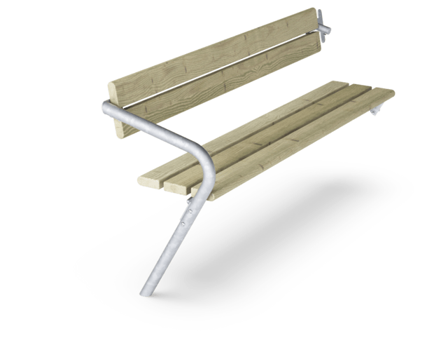 AGORA EXTENSION BENCH+BACKREST