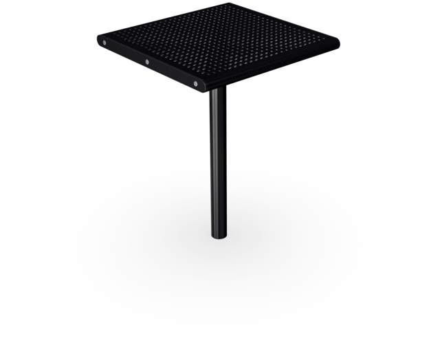AGORA Steel Square Table