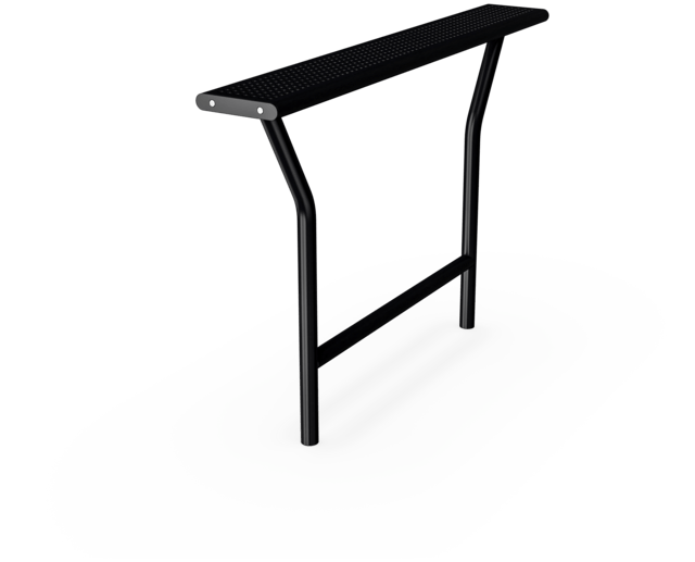 Agora Steel Hangout Table