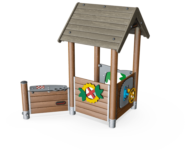 Playhouse with Desk