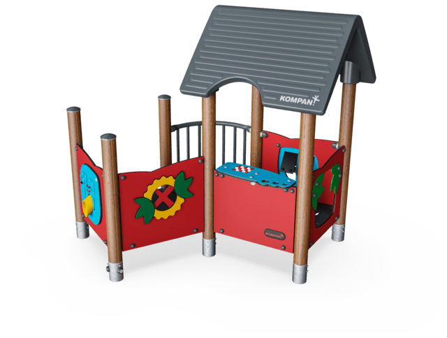 Playhouse with Balcony