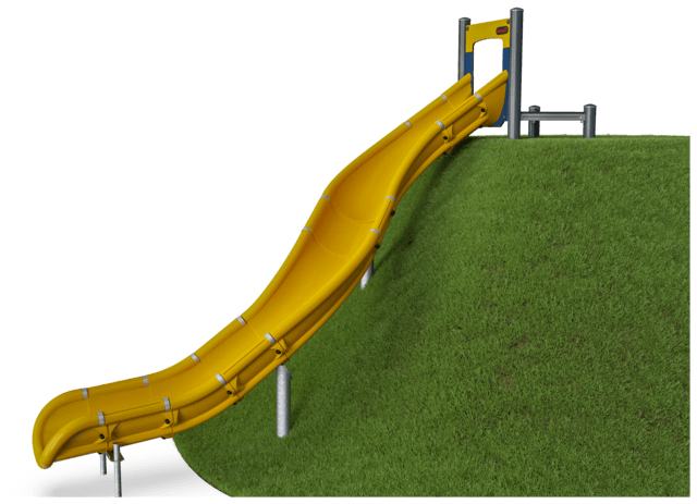 Embankment Slide, Curved