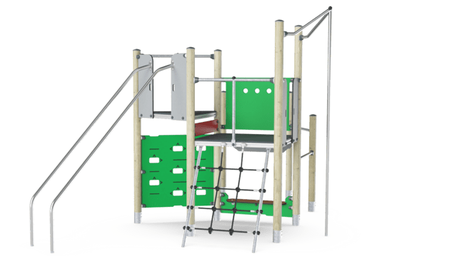 Play Tower with Climbing Wall, Basic