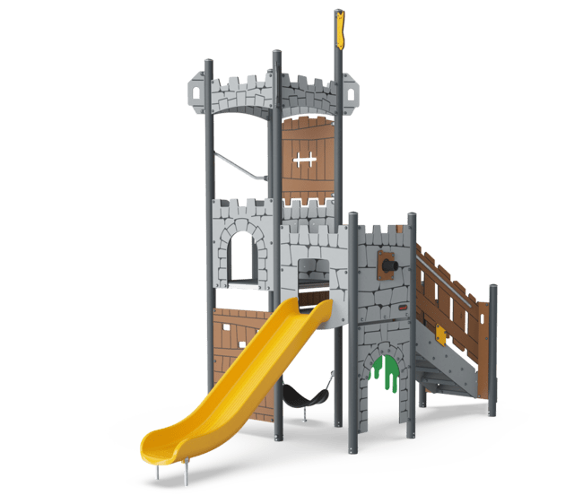 Castle watch  Tower ADA, plastic slide
