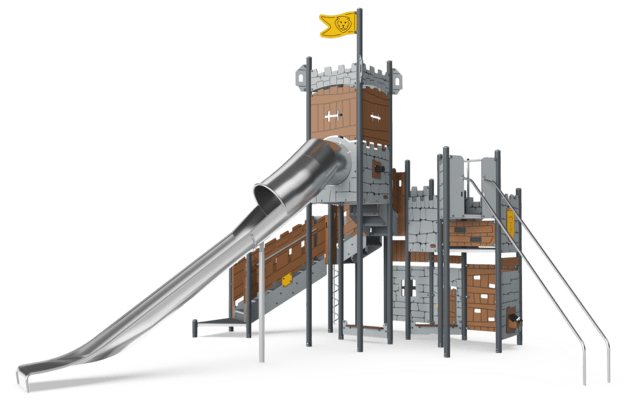 Castle Fortress ADA, plastic slide