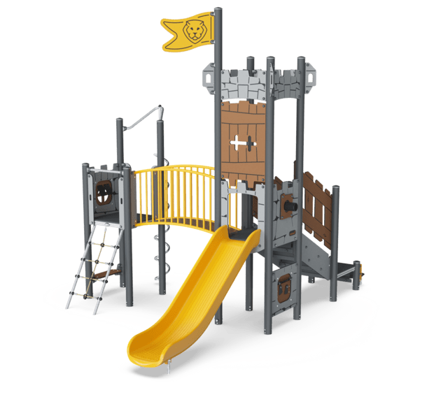 Castle  Gatehouse ADA, Plastic slide