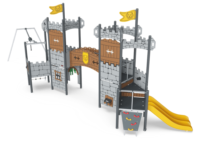 The Keep Outer Gate with Roof & Track Ride