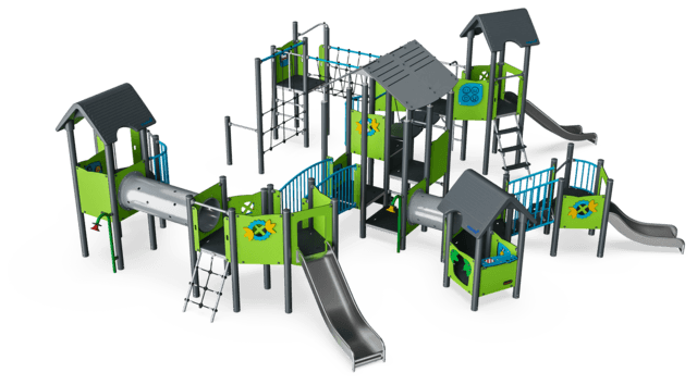 Multi Play Tower & Playhouses