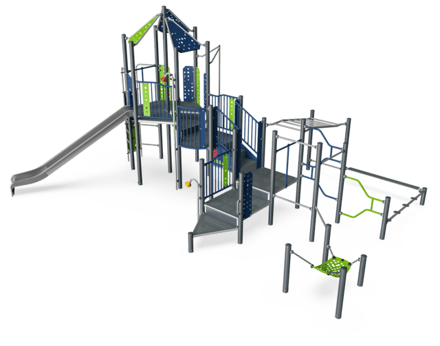 QUEENSBORO Play & Agility Tower
