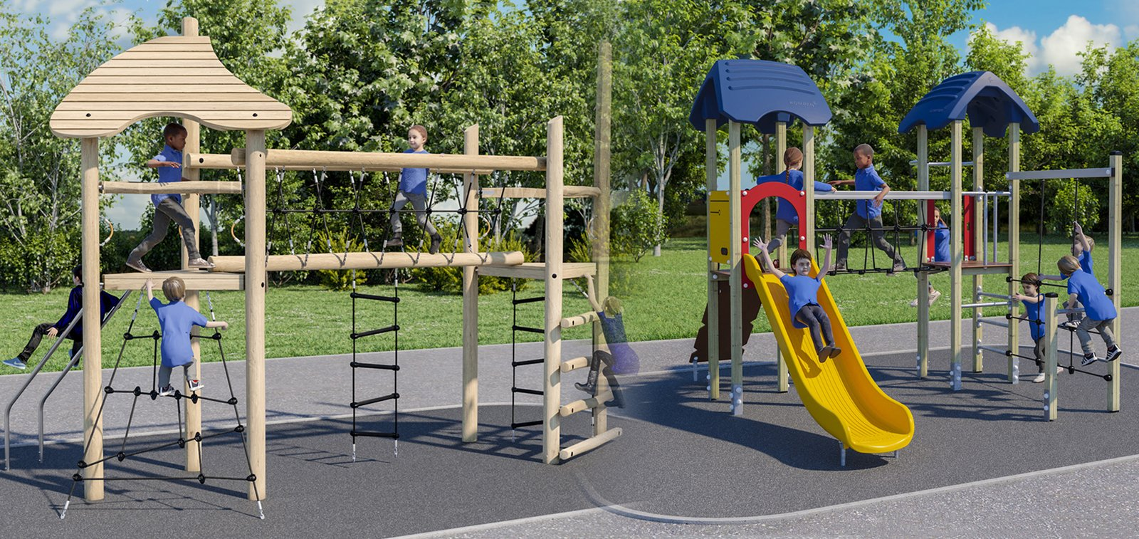 Kompan Tower Play Units Offer