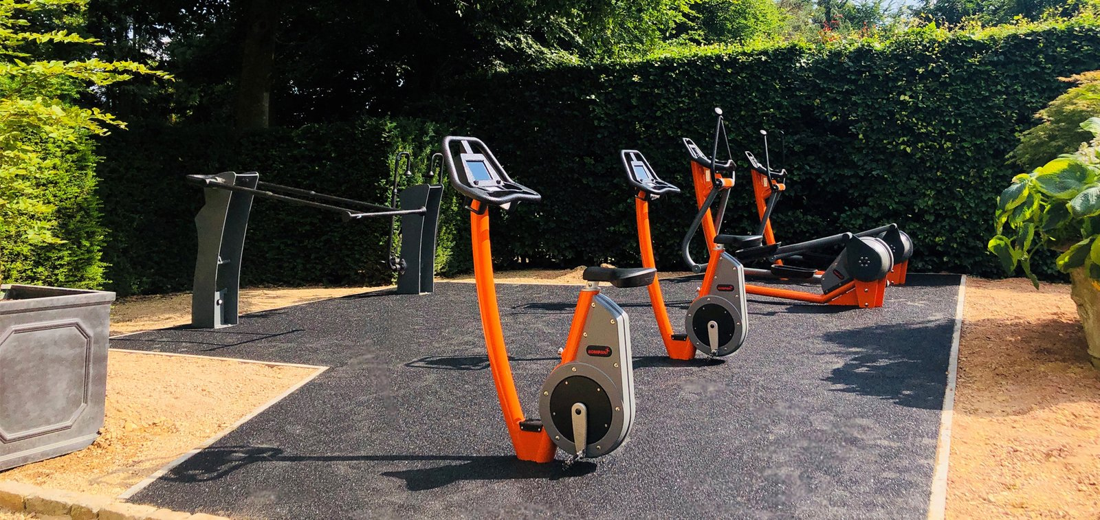 Outdoor Fitness at Calcot Hotel & Spa