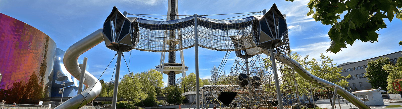 A Sky Play structure is an entire playground in one play structure