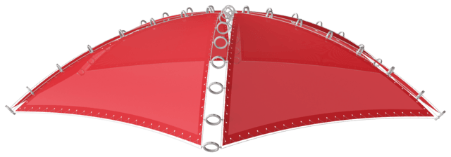 Sunshade for Giant Dome