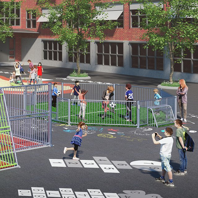 Schoolyard Multi Use Games Area