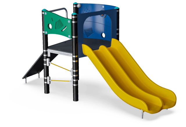 Double Slide Tower