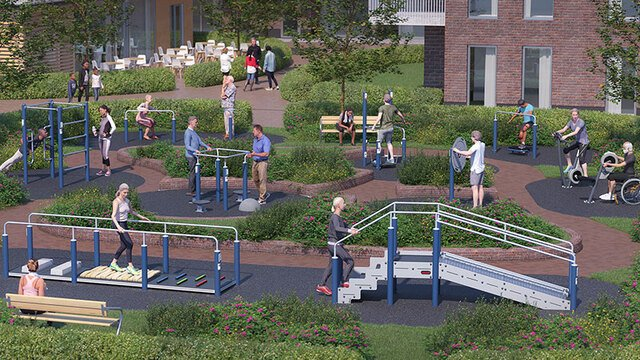 Outdoor activity solutions for active agers and rehabilitation
