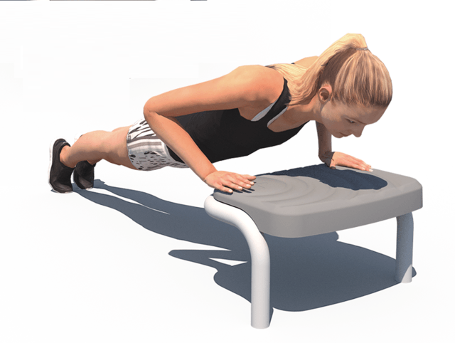 Push Up Incline Box